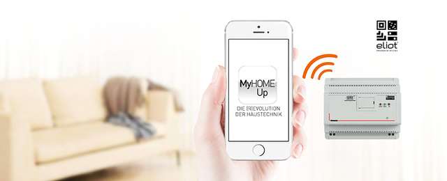 MyHOME / MyHOME_Up bei Elektro Ullrich GmbH in Weikersheim